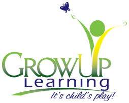Grow Up Learning Logo